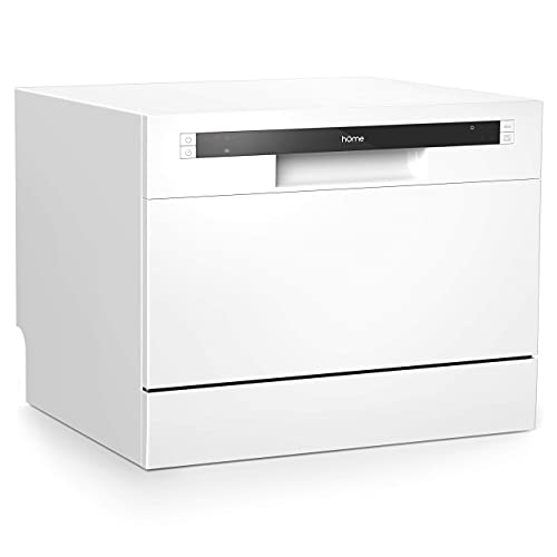 hOmeLabs Compact Countertop Dishwasher - Energy Star Portable Mini...