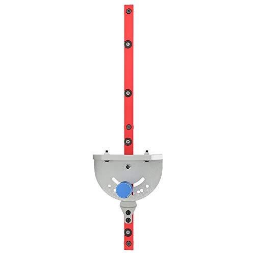 Medidor de inglete, herramienta de carpintería, guía de inglete de bricolaje, herramienta de ángulo de carpintería para carpintero de canal deslizante modelo 30/45