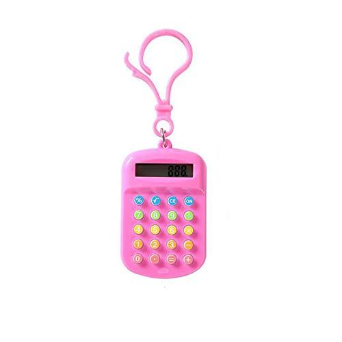 Aibecy Mini calculadora de mano pequeña pequeña calculadora electrónica portátil para estudiantes Oficina de la escuela en casa