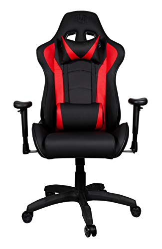 Cooler Master Gaming Chair Caliber R1 - Ecopelle - Red