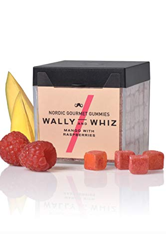 Wally And Whiz - Nordic Gourmet Winegums Mango und Himbeere (vegan, gluten- laktosefrei) 140 g