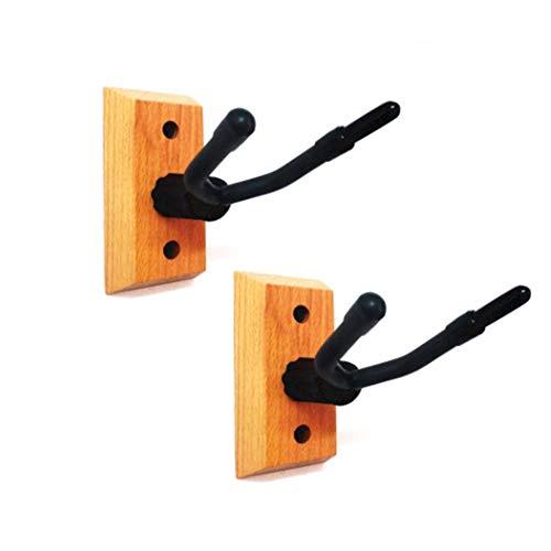 Lenere Violino - Supporto da parete in legno duro per violino con arco, per casa e studio
