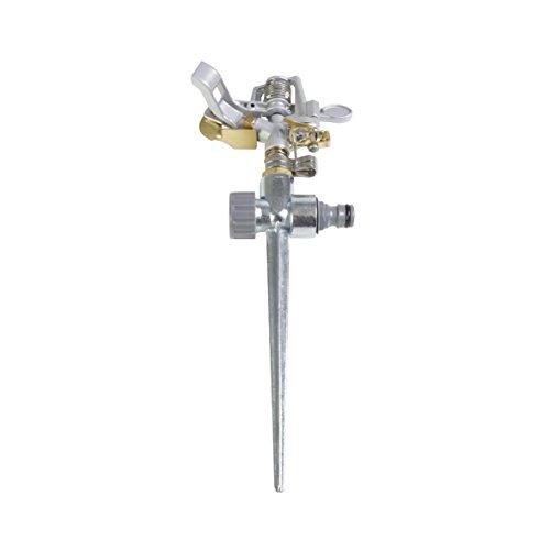 Xclou 346130 - Irrigatore A Impulso A Settori Con Innesto Per Terreno
