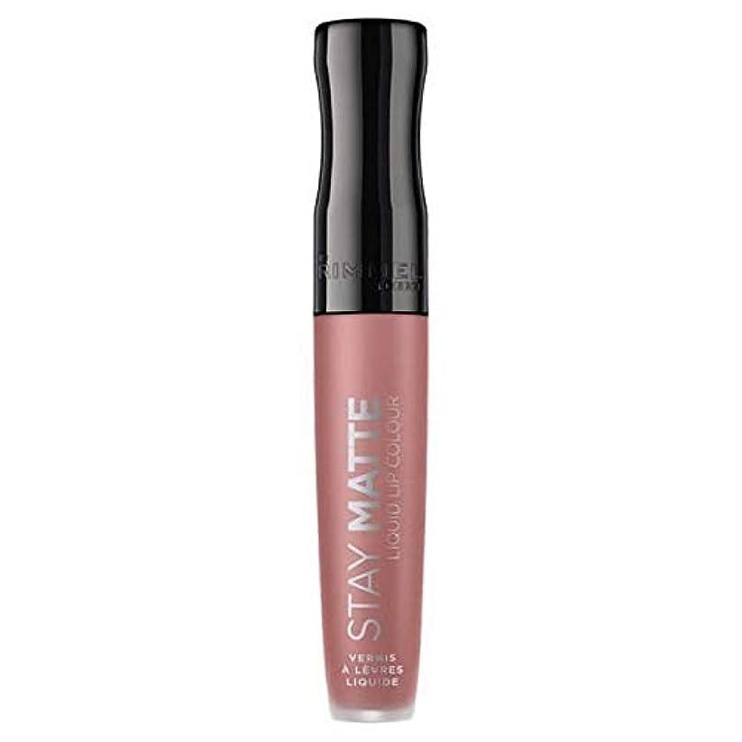 ハブかけがえのない電卓[Rimmel ] リンメルステイマット液体リップ口紅ストラップレス - Rimmel Stay Matte Liquid Lip Lipstick Strapless [並行輸入品]