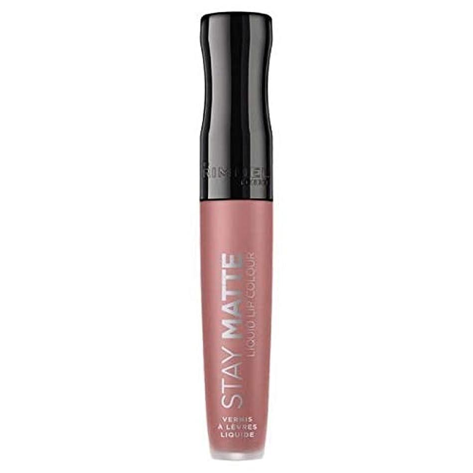 王位スピーカーペンダント[Rimmel ] リンメルステイマット液体リップ口紅ストラップレス - Rimmel Stay Matte Liquid Lip Lipstick Strapless [並行輸入品]