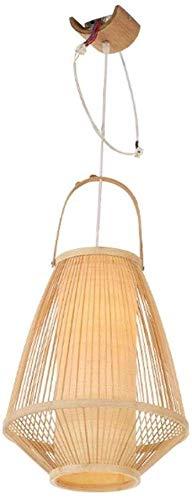 Ssydj Habitación De Estilo Japonés De Estilo Japonés Iluminación De Techo Lámparas De Mesa Hecho A Mano For Estar Sala Colgante E26 Comedor Étnica Luz For La Tabla [para 4 A 6 Esteras Tatami]