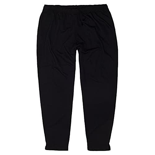 Übergrößen Herren Jogginghose lang in schwarz von Honey Moon/Größe 3XL bis 15XL, Größe:4XL