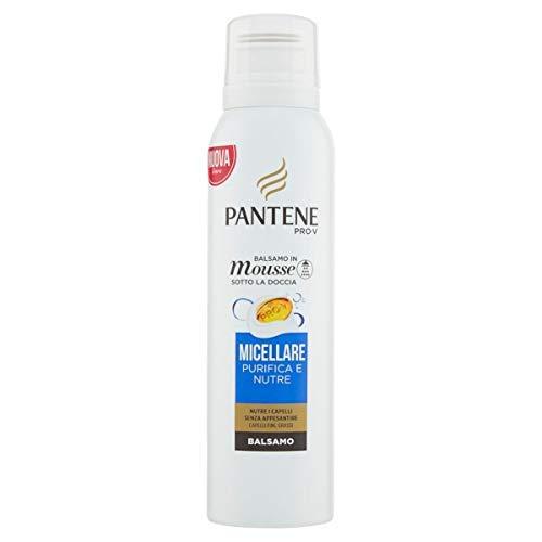 Pantene - Set de 6 acondicionadores para el cabello de espuma micelar purificada y nutrida, 1000 g