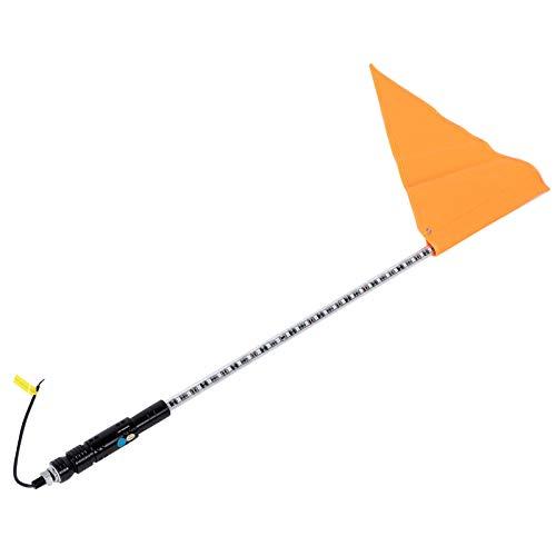 Fahnenmast, Peitschenlicht, 91 cm, DC12 V, LED-Antenne, Fahnenmast-Lampe, passend für ATV, UTV, Auto-Ersatz