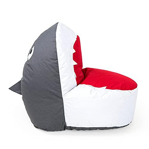 Puf para niños sin relleno. Solo fundas para puf sin relleno. Funda para silla de interior y exterior para niños de 2 a 8 años. Puf rellenable para sillas y almacenamiento de animales de peluche.
