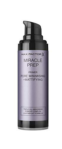 Max Factor Miracle Prep Pore Minimising & Mattifying Primer – Mit pflegender Hyaluronsäure – Für ein ideal mattiertes und ebenmäßiges Finish