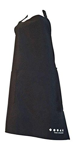 Tinas Collection - Juego de 2 delantales de cocina con bolsillo y correa ajustable para hombres y mujeres, regalo ideal para cumpleaños y día del padre