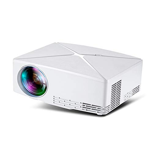 Small Office projector HD Smart projector LED draadloze thuisbioscoop verticale trapeziumcorrectie 138-inch screening ingebouwde subwoofer
