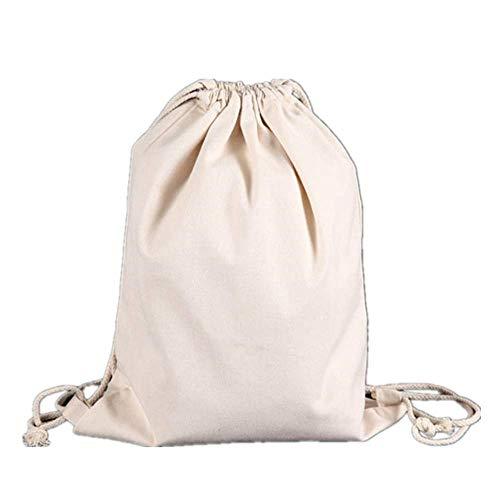 WUJIANCHAO Storage bag drawstring pocket small coin purse travel ladies small cloth bag gift bag