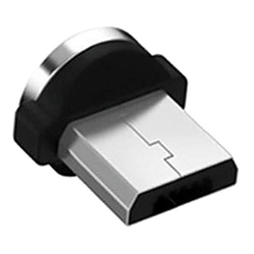 IPOTCH Cable de Carga magnético (3 pies/6 pies), Cable 3 en 1, Compatible con Micro USB, Smartphone Tipo C y Dispositivo iOS - Tipo H