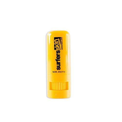 Surfers Skin LSF 30+ Zinkoxid Stick 8,5g wasserfester schweißfester Sonnenschutz, Sunscreen Surfen, Sup, Wassersport