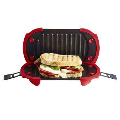 Lekue Standard Microwave Grill for Toasted Sandwiches and More