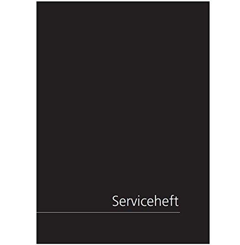 Edles Serviceheft - für VW/Volkswagen geeignet - universal Scheckheft & Wartungsheft ✓ blanko!
