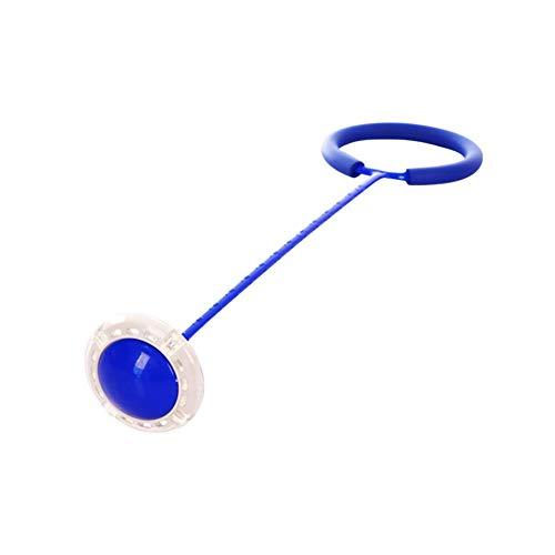 Leezo Blinkender Springring für Kinder, Outdoor-Spaß, Sport-Spielzeug mit LED-Leuchte für Kinder, Springspielzeug, Kraft-Reaktions-Training, Spiel für Kinder und Eltern