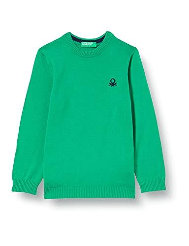 United Colors of Benetton Maglia G/C M/L 1098q1205 Suter, Verde 108, 2 Años para Bebés