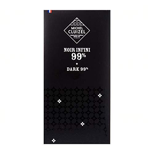 Michel Cluizel Noir Infini 99% Bar , 70g/2.46oz.