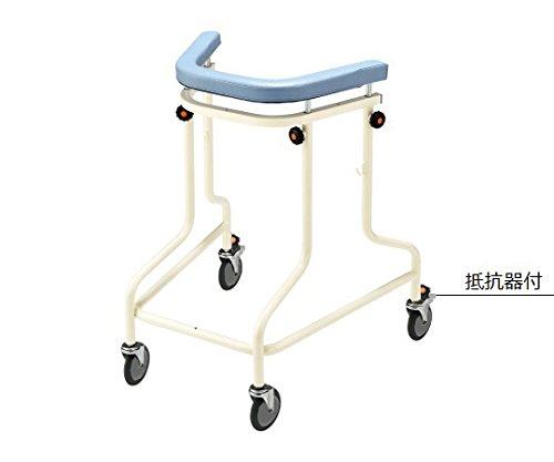 ナビス(アズワン)8-6501-02らくらくあるくん(R)(ネスティング歩行器)抵抗器付きブルー