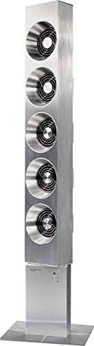 Sygonix Turmventilatore 25 W (L x B x H) 240 x 180 x 1030 mm argento