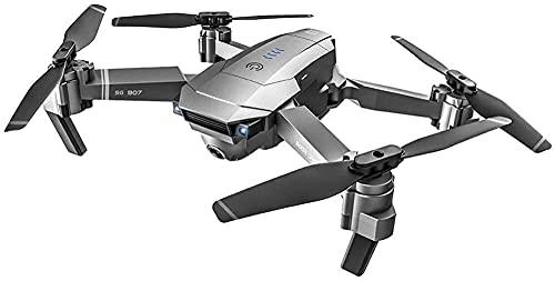 Mini Drone con videocamera HD WiFi FPV Quadcopter RC pieghevole Rtf 4Ch 5G Telecomando senza testa [Mantenimento dell'altitudine] Volo super facile per l'allenamento A-UN