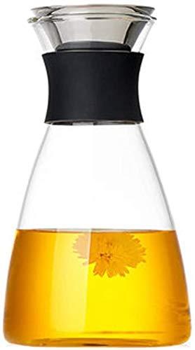 PANGPANGDEDIAN Tetera de Cristal Tetera Taza Tetera Hervidor casa de Vidrio de Alta Temperatura de la Botella de Agua Set Tetera de Cristal de Gran Capacidad Jugo Botella D 'Agua Fría Juego de té