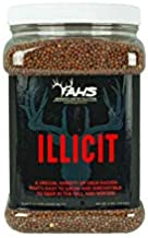 Domain Outdoor Illicit Food Plot Seed, 1/2 Acre, Perfect Seed for Spring, Summer or Fall, Fast Growing Variety of Deer Radish, Leafy Greens, Sugar-Filled Tap Root, Up to 8 Tons of Forage Per Acre