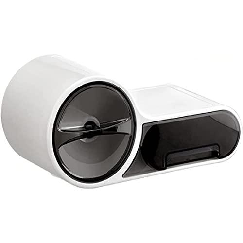 Soporte de papel higiénico, Caja de papel higiénico impermeable para baño, soporte de papel higiénico montado en la pared, sin soporte de tejido perforado