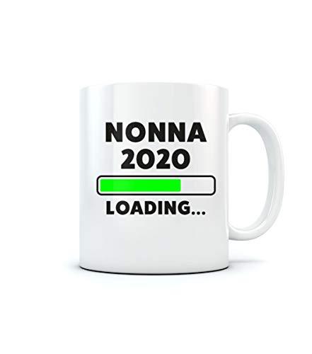 Idea regalo per futura Nonna Loading 2020 - Tazza in ceramica Tazza in ceramica 11 Oz. Bianco