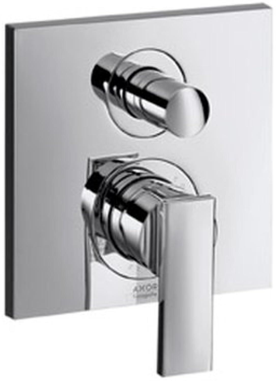 Axor Citterio Einhebel-Wannenmischer Unterputz mit integrierter Sicherungs- kombination nach EN1717