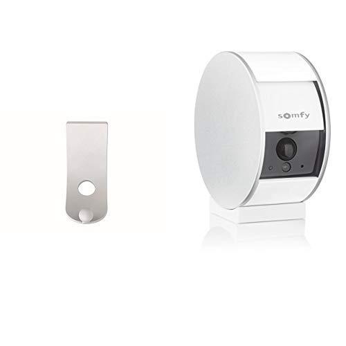 Support Mural pour Somfy Security Camera | Installation Très Simple | Discret et Élégant | Compatible avec la Somfy Security Camera + SOMFY - Indoor Camera