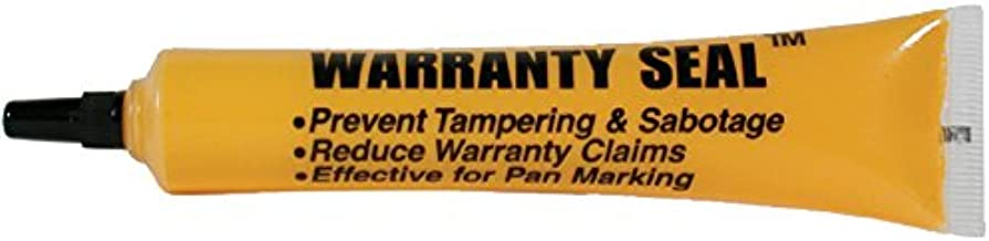 TSI Supercool 12848 Yellow Warranty Seal Marker, 1.8 oz