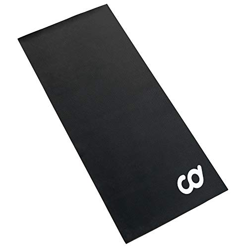 """CyclingDeal Exercise Rowing Machine Mat - 3'x8.5' (High Density) - Under Indoor Stationary Indoor Bike Bicycle,Treadmill, Elliptical, Hardwood Floors & Gym Home Carpet Protection(36""""x102"""")"""