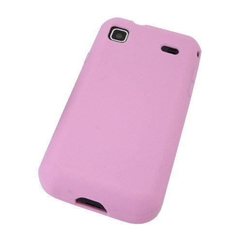 Unbekannt COGODIS Silikon-Tasche/Hülle passend für Samsung Galaxy S I9000 Galaxy S Plus/GT-I9001 - Light Pink - Silikontasche Schutzhülle Hülle Case Case