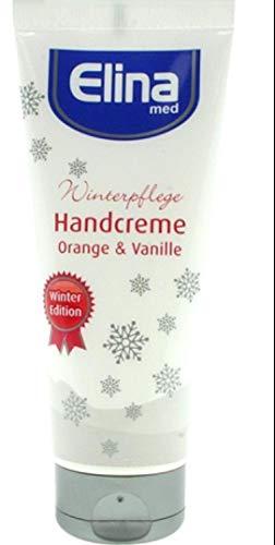 Elina med Handcreme Winterpflege Orange & Vanille 3 x 75 ml