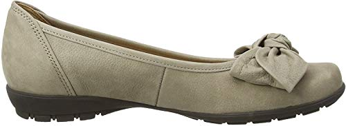 Gabor Shoes Gabor Gabor Casual, Damen Ballerinas, Beige (Beige Nubuck), 37 EU (4 UK)