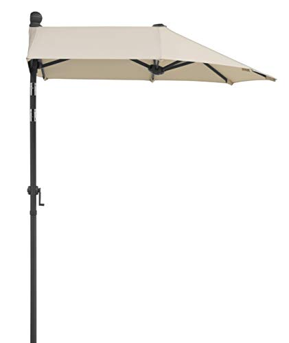 Schneider-Schirme Sonnenschirm Salerno Mezzo, Natur, 150 x 150 cm Balkonschirm