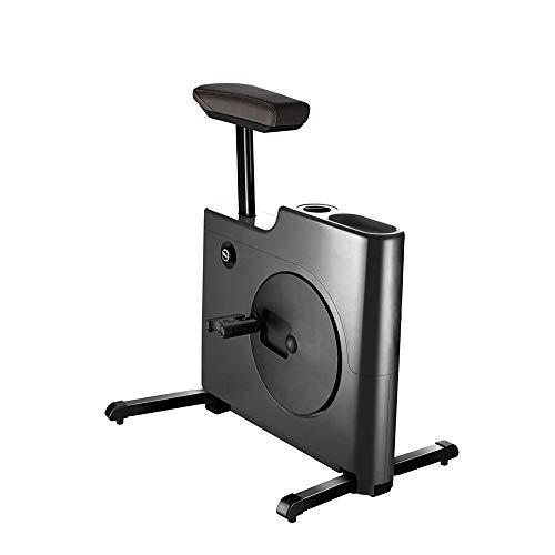Mini bicicleta de ejercicio Magic Box, bicicleta estática de 250 lb de capacidad para uso en la oficina en casa, máquina de entrenamiento de bicicleta plegable para quemar calorías
