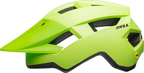 Bell Unisex Jugend Spark Junior MIPS Fahrradhelm, mat Bright Green/Black, Uni Youth