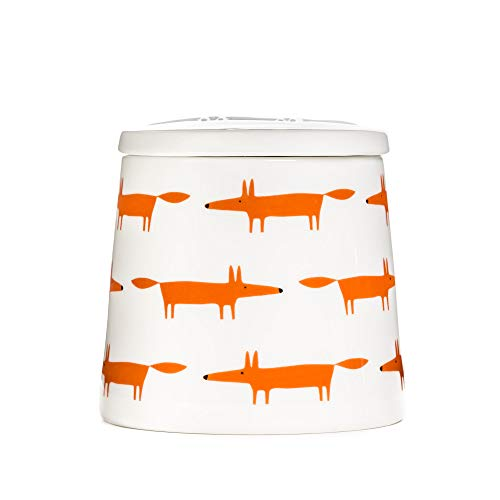 Scion Große Vorratsdose – Mr Fox – Keramik & Orange Multi SC-0267