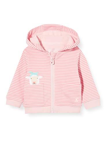 Joules Tenley Sudadera con Capucha, Pink Sheep, Upto3m para Bebés
