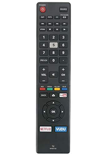 AIDITIYMI NH427UD Remote Control Replace for Sanyo LCD TV FW50C85T FW55C87F FW50C87F FW55C78F FW50C78F FW65C78F FW55C78F FW50C78F FW55C87F FW50C87F FW55C46F FW43C46F FW55C46F-B FW55C46FB FW43C46FB