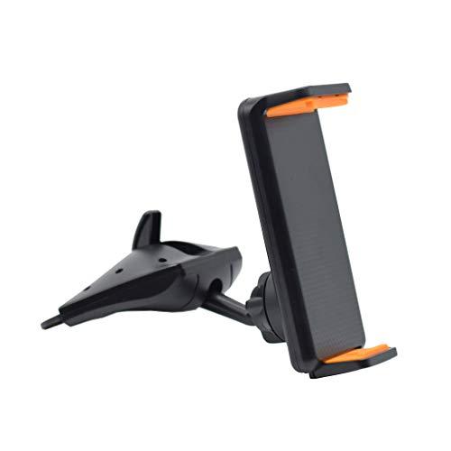 AERVEAL Soporte de Soporte, Soporte Universal de 360 Grados de rotación para Coche con Ranura para CD, Soporte para teléfono GPS, Soporte para Tableta