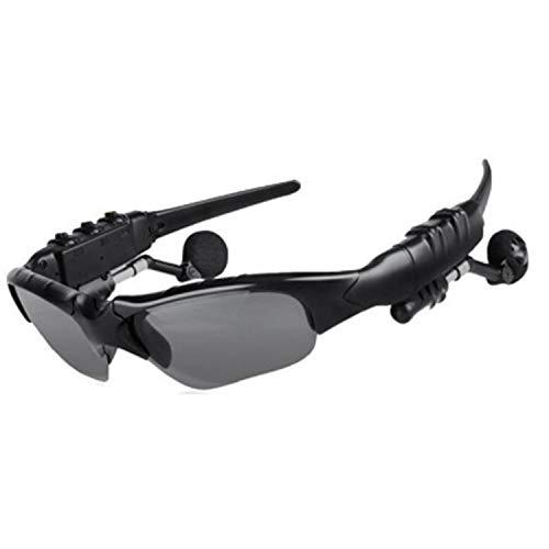 YUTAO Auriculares inalámbricos Bluetooth, Combo de Auriculares con Gafas, Gafas Elegantes, Unisex, batería Fuerte, Adecuado para Conducir, Deportes, Viajes, versión Bluetooth 5.0