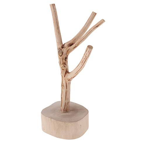 B Blesiya - Soporte creativo de madera para joyas y collares
