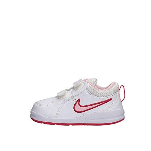 Nike Pico 4 TDV, Scarpe Primi Passi Unisex – Bimbi 0-24, Multicolore (Bianco/Rosso/Rosa), 21 EU