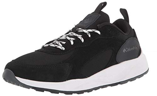 Columbia Women's Pivot Hiking Shoe, Black/White, 6.5